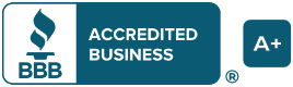 Rob's Roofing Solutions is a Better Business Bureau Accredited Business with an A+ Rating